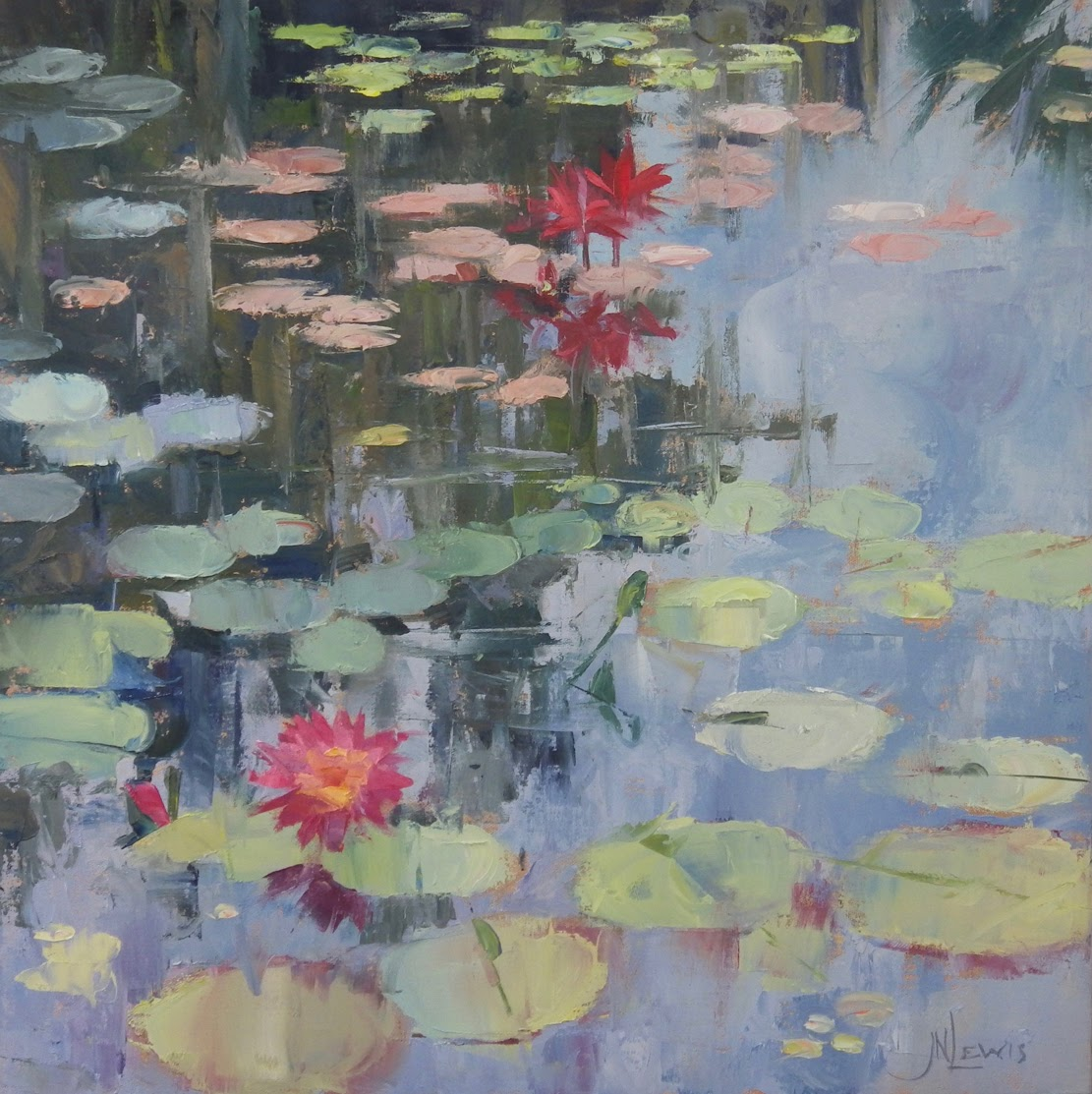 James Nelson Lewis Lily pond