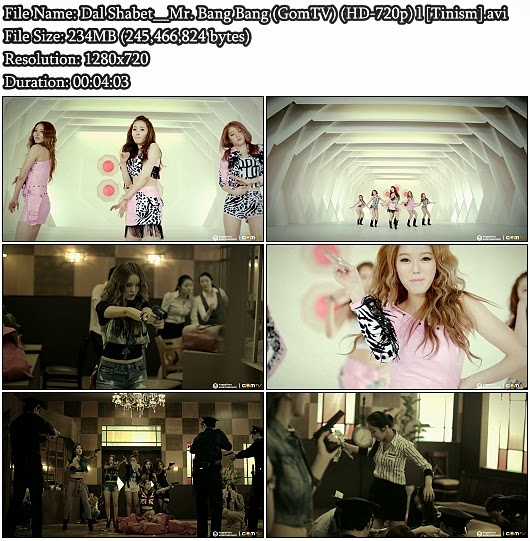 Download MV Dal★Shabet - Mr. Bang Bang (GomTV HD 720p)