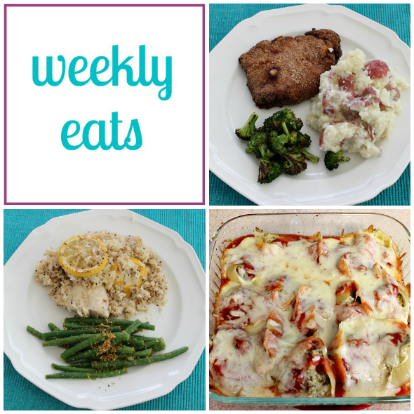 weekly eats dinner menu