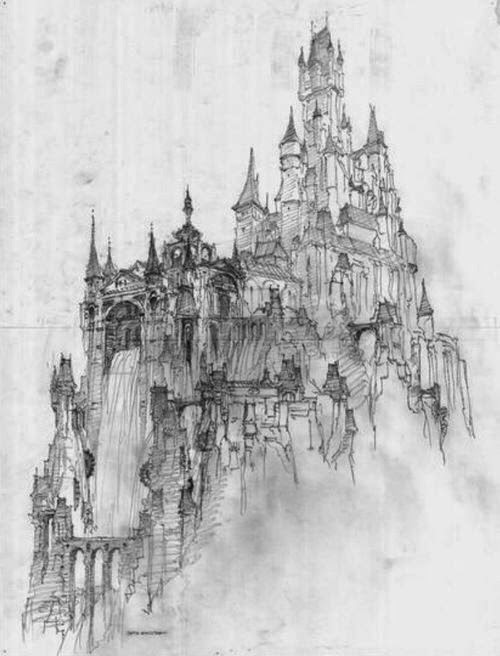 Castle Concept Tangled
