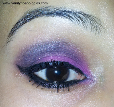 evening eye makeup