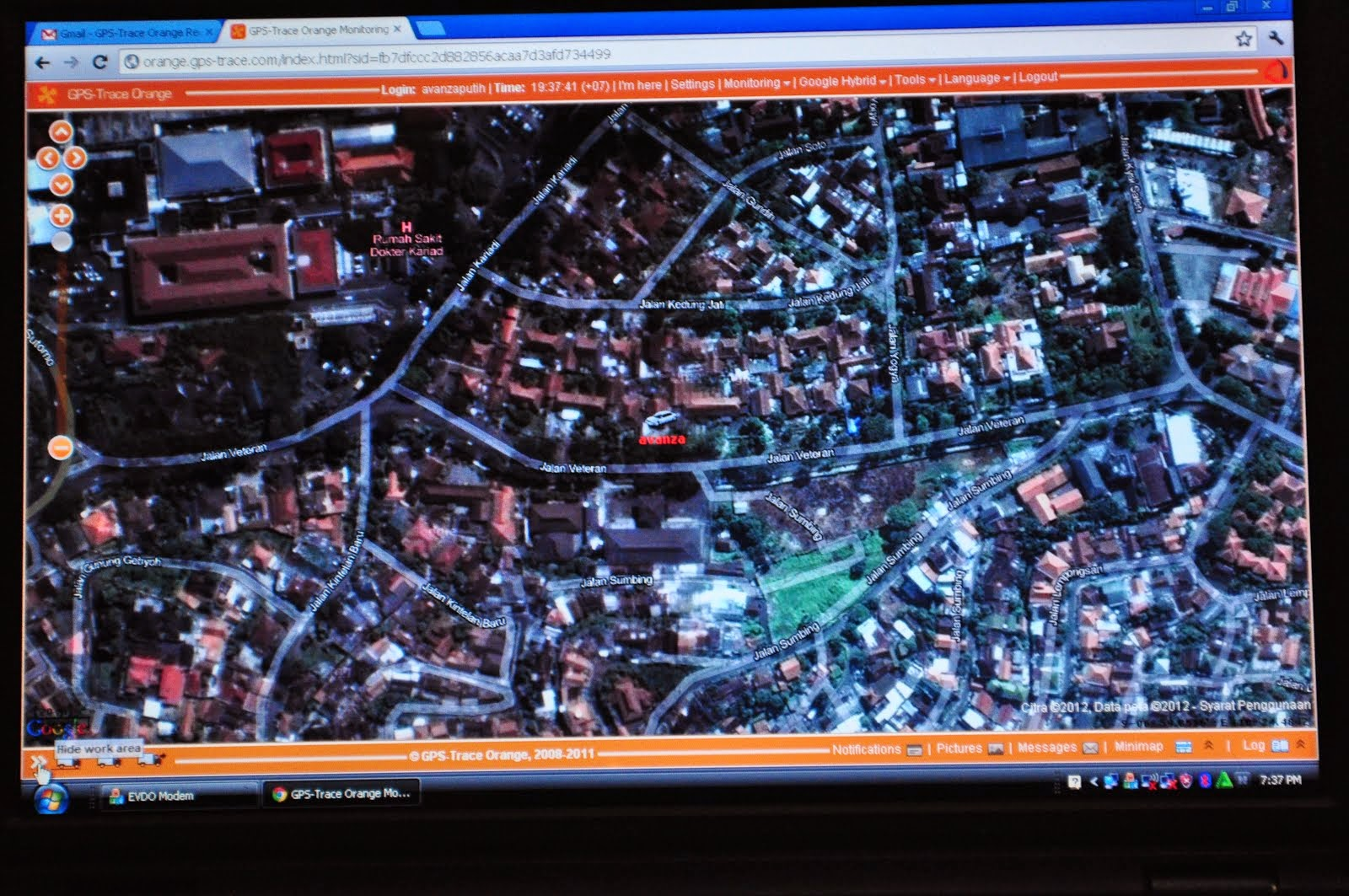 Cara daftar GPS Tracker di Trace Orange