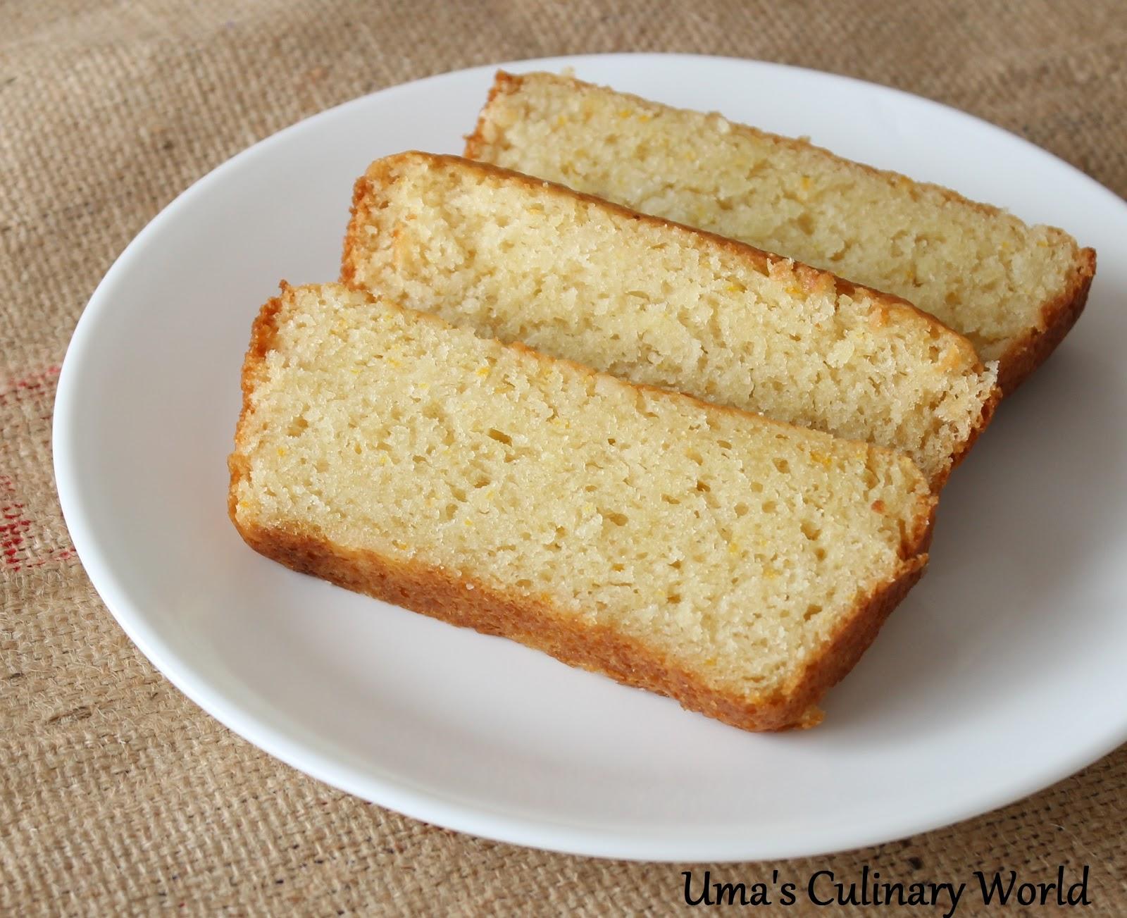 Sponge Cake With Oil And Yogurt