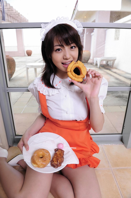 Shizuka Nakamura Japanese Sexy Idol Sexy Chef Dress ...