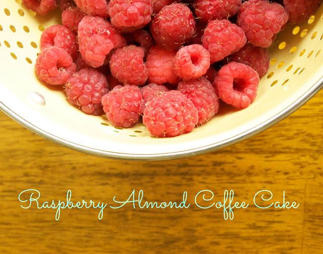 "Flouretta Sweet: ""Chaotic"" Raspberry Almond Coffee Cake"