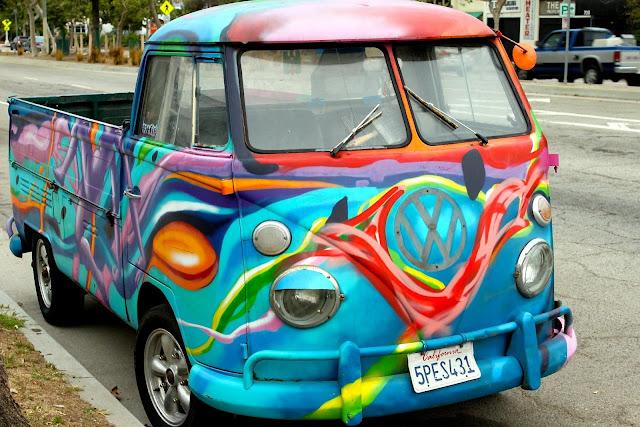 venice beach vw truck