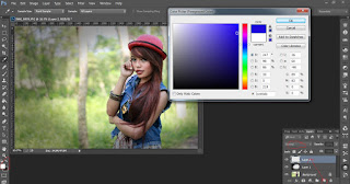 Edit Photoshop Keren Foto Potrait Model