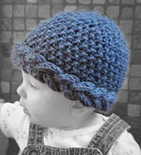 Simple Hat with a Twist