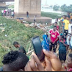 Unbelievable: The river located around the popular Kara market in Lagos dry up over night.