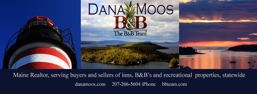 Maine Inns for Sale, Maine Bed and Breakfasts for sale, aspiring innkeepers