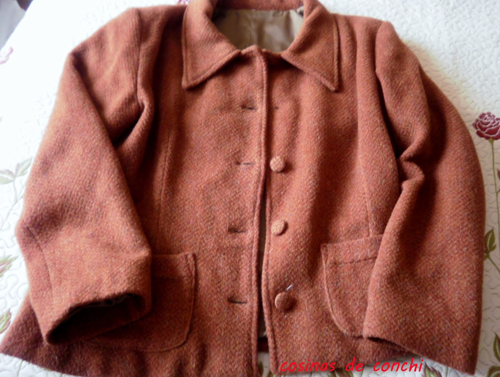 Estrechar manga abrigo