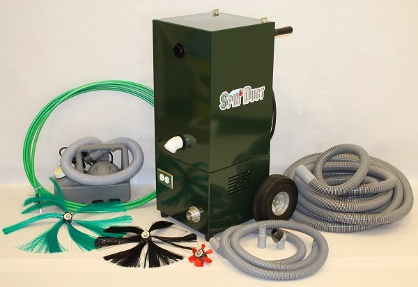 professional air heating duct cleaning equipment