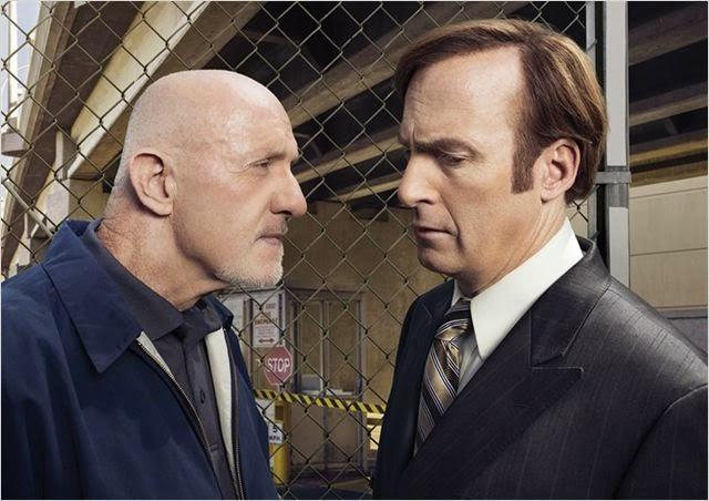 Bob Odenkirk y Jonathan Banks en Better Call Saul
