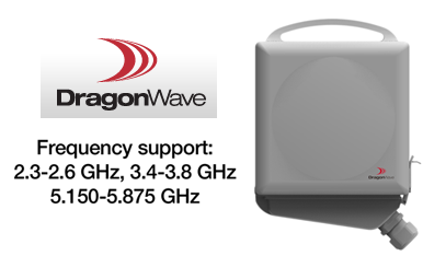 The Dragonwave Harmony Radio Lite Offers A Form Factor Of Only 7 5 In Square Including Integrated Antenna Its Point To Microwave Supports Both