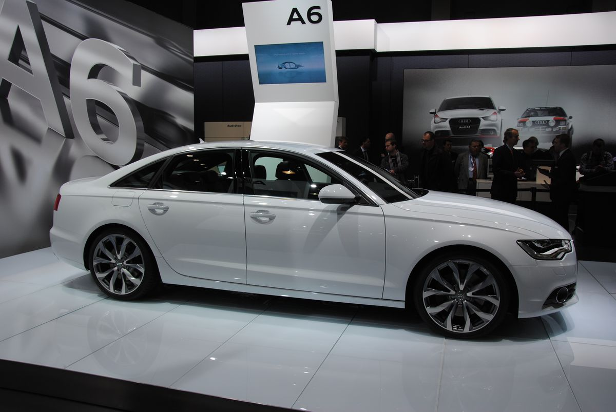 audi a6 2012 car review specification images. Black Bedroom Furniture Sets. Home Design Ideas