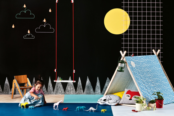 kids room -  styling Jessica Hanson for Australian InsideOut magazine
