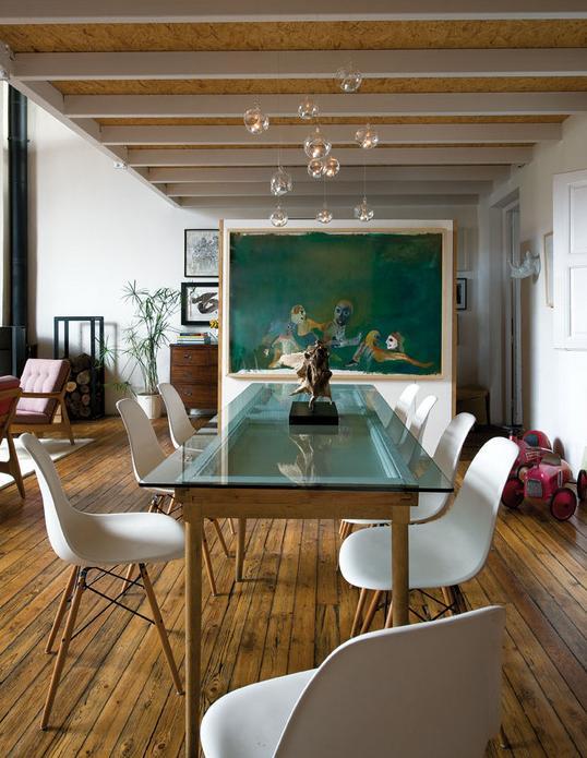 Un faro de ideas casa viva una casa en continua for Reloj cocina casa viva