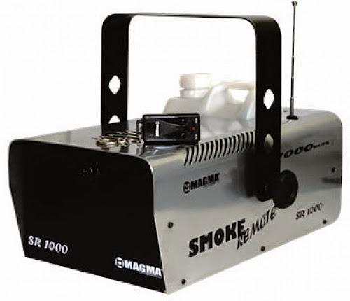 Maquina de fumaça controle remoto