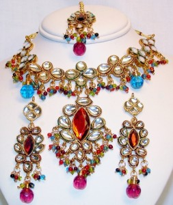 Latest Collections of Pakistani & Indian Wedding Jewelry 2013