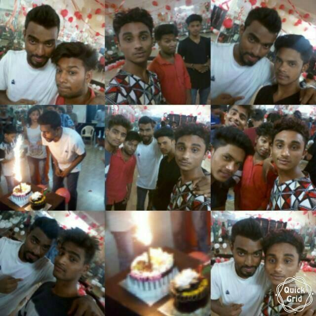 Birthday celebrated with Dance Guru Shri  Shakti Pal Sir