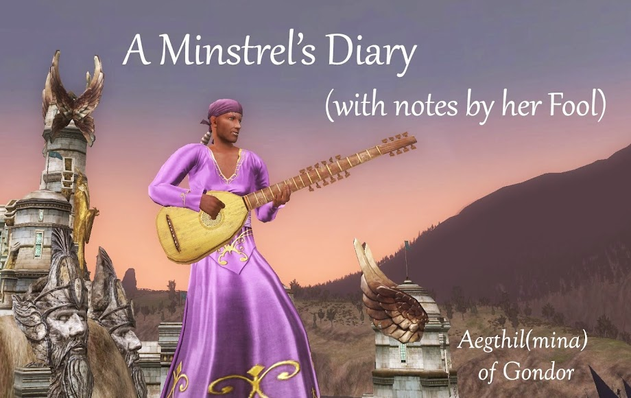 A Minstrel's Diary, with Notes by his Fool.
