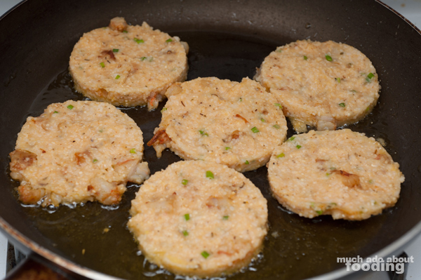 Shrimp And Grits Cakes Recipe — Dishmaps