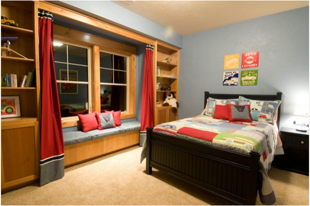 Big boys bedroom design ideas room design inspirations for Large bedroom ideas