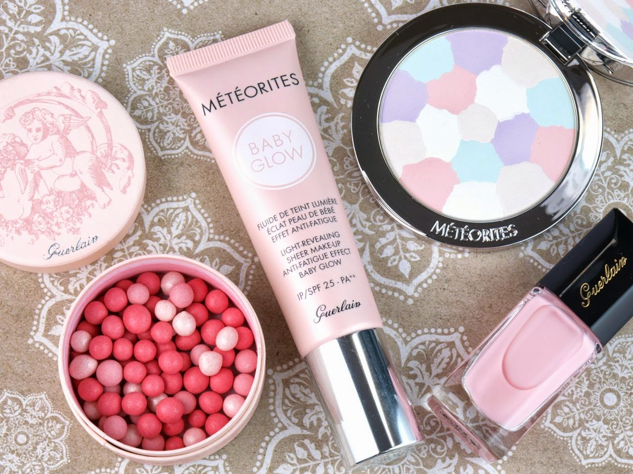 Guerlain Spring 2015 Les Tendres Collection: Review and Swatches