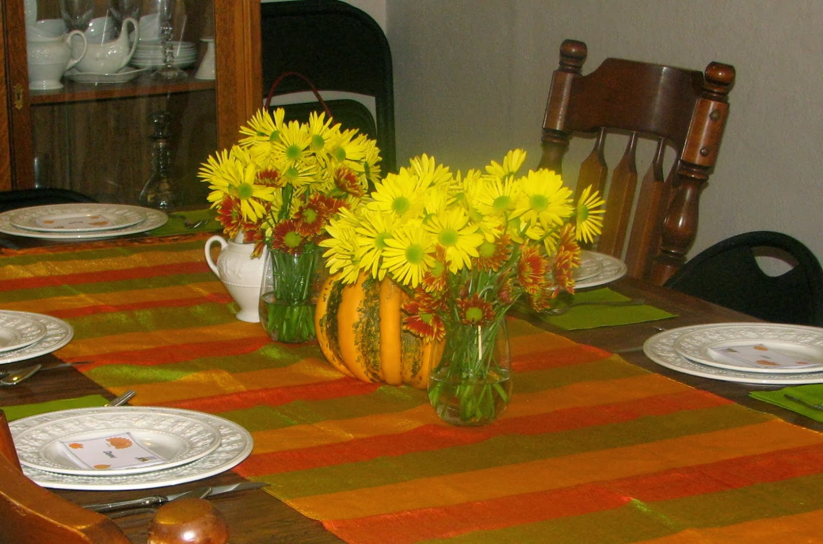 Shel s kitchen easy thanksgiving centerpieces