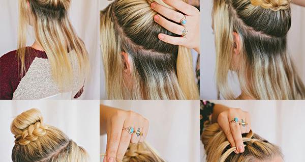 Double Braid Hairstyle Tutorial Fashion Hunt World