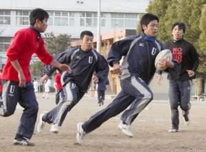 浦和高ラグビー部イレブン: <br>「花園」の全国大会で頑張れ!