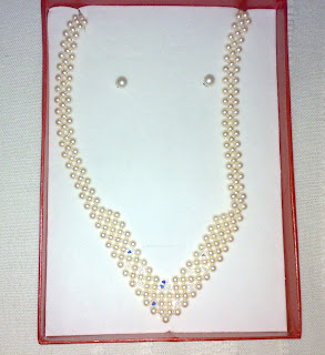 set bijuterii perle Swarovski