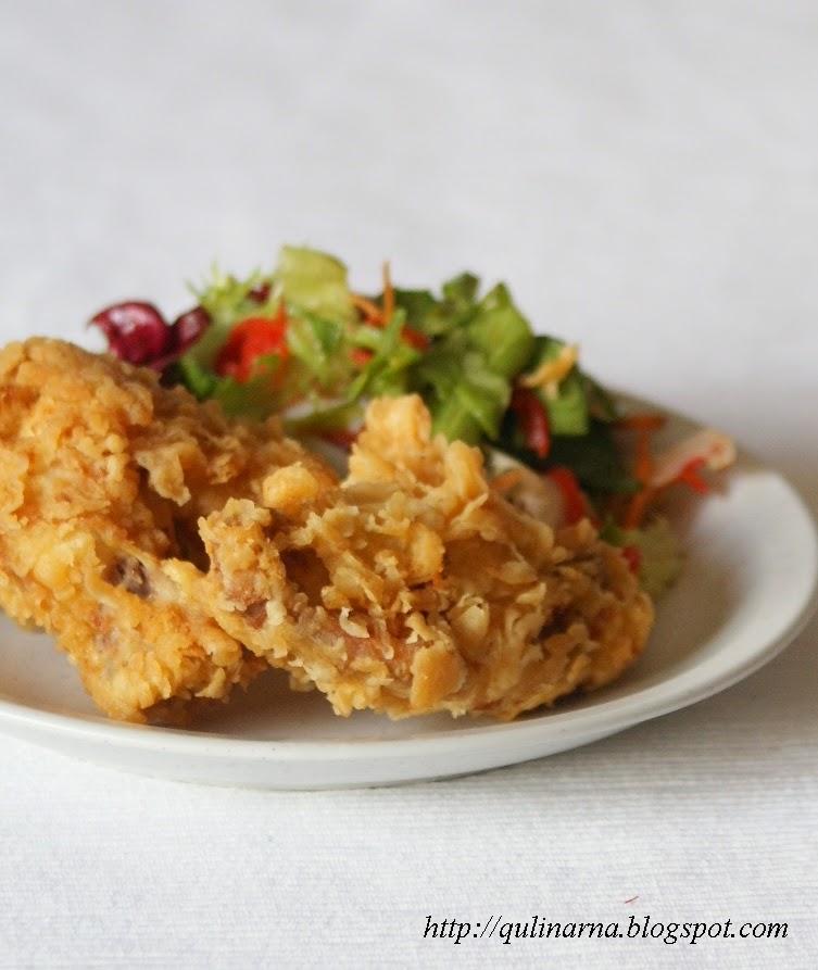 Qulinarna blog kulinarny: Kurczak a'la KFC