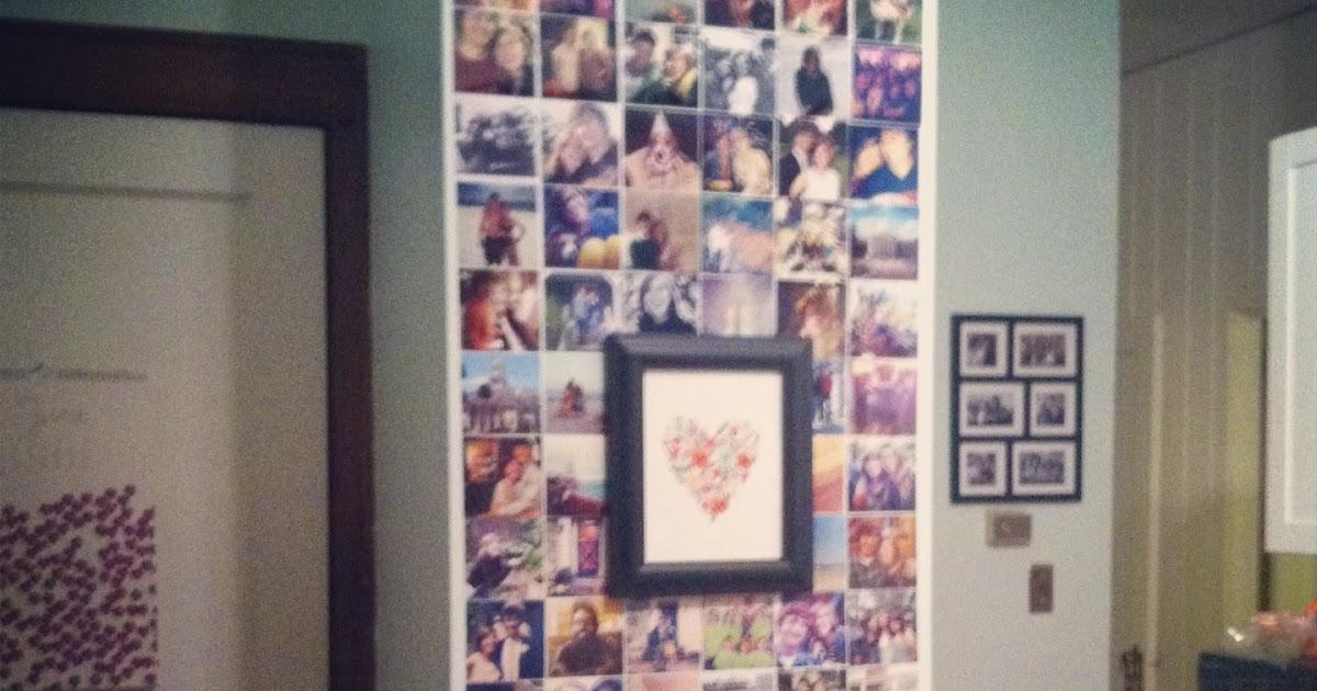 ANNIE B JONES Making Do An Instagram Wall Tutorial