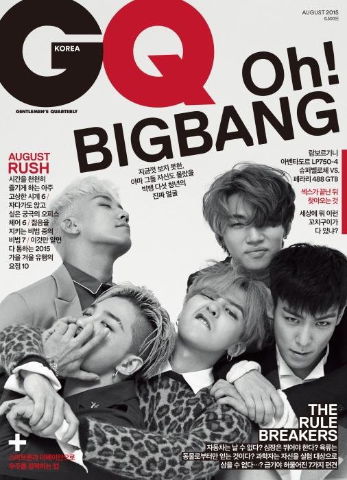 Big Bang Korean Boy Group