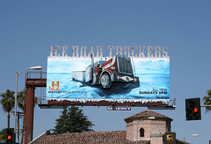 Ice Road Truckers 3D billboard