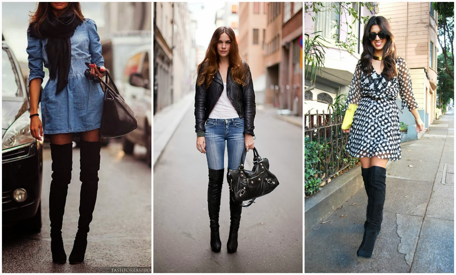 FASHION TREND OF THE WEEK: 5 WAYS TO ROCK KNEE LENGTH/THIGH HIGH
