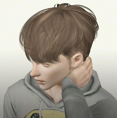 My sims 3 blog raon male hair 13 retexture by ritsuka