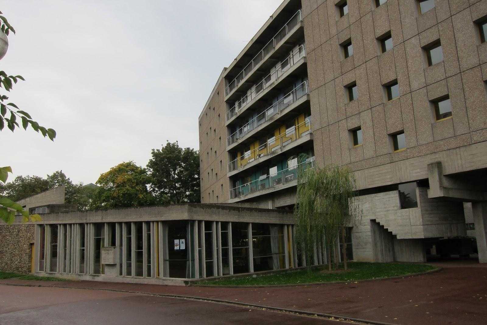 The architectourists paris maison du br sil - Maison du bresil paris ...