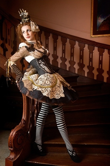 DevilInspired Steampunk Dresses Womens Corsets In The