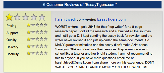 Pay for essay reviews