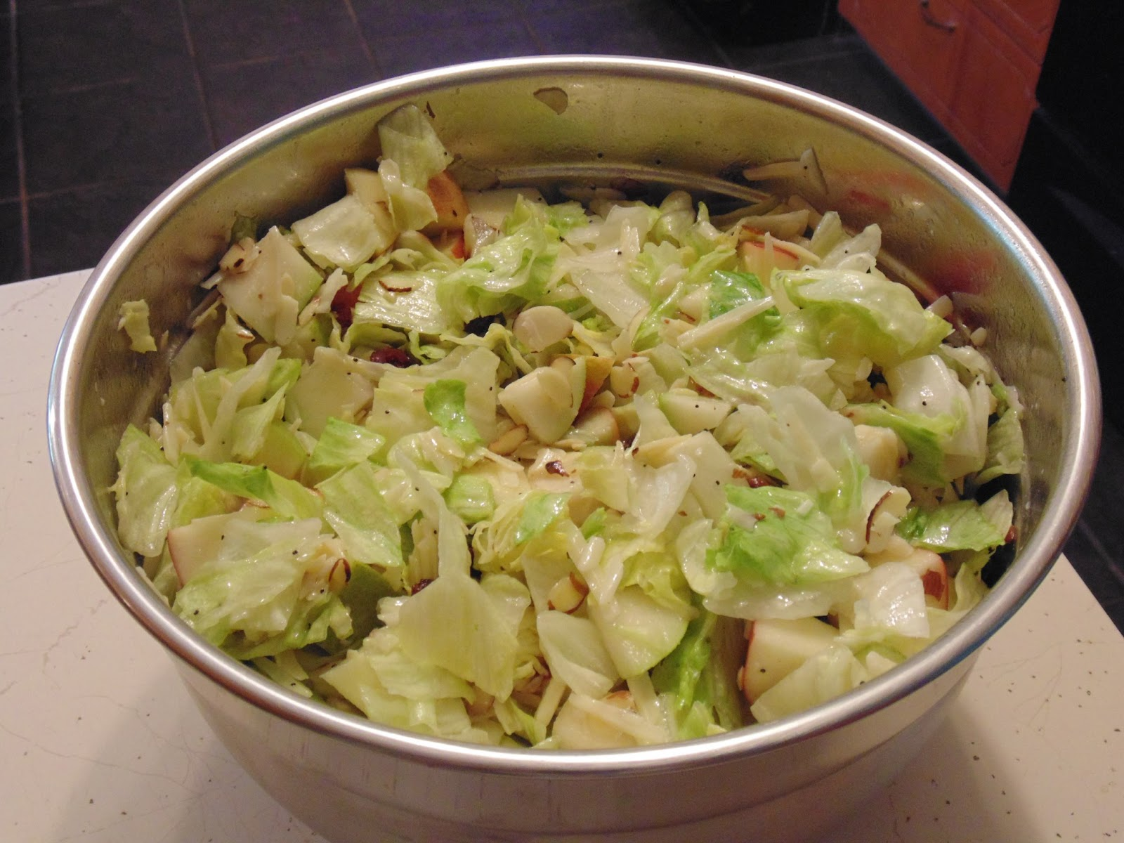 Apple and Pear Salad (Just in time for Summer)