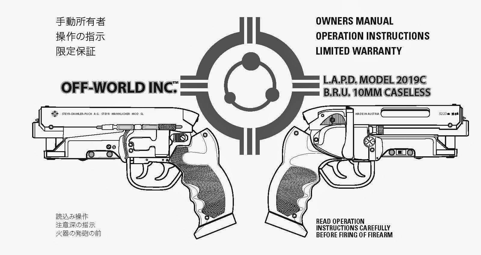Future war stories the weapons of sci fi deckards blaster from the weapons of sci fi deckards blaster from blade runner malvernweather Image collections