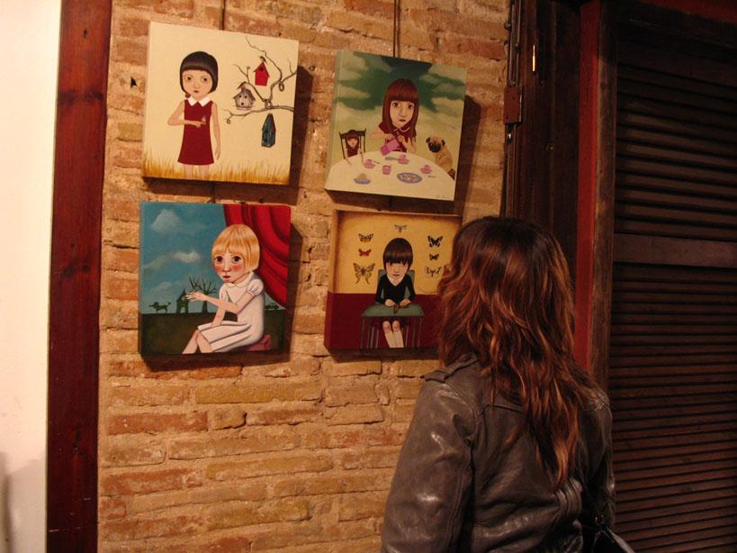 MIRIAM MIRAS: Exposición en la Galería Beaskoa