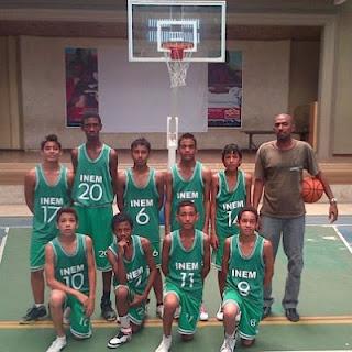El equipo infantil del INEM Cartagena llega a la final del baloncesto infantil en el campeonato del proyecto SUPERATE