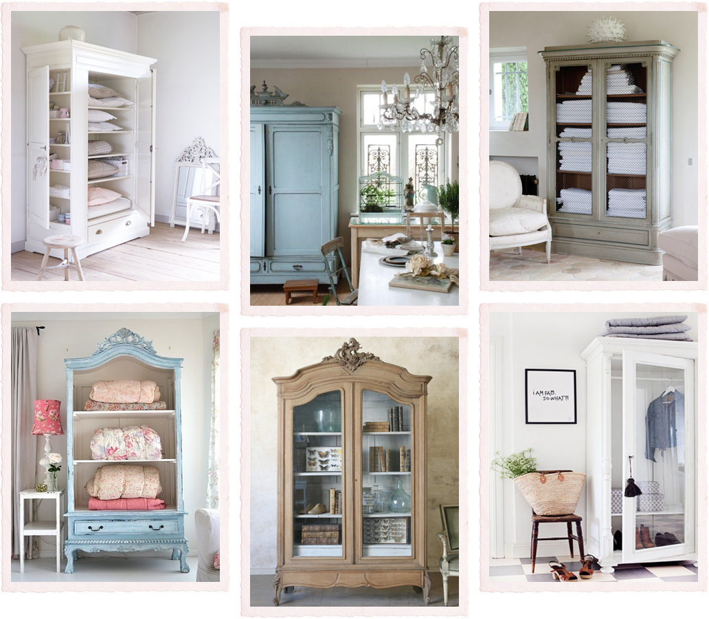 come organizzare un ingresso : Un armadio, tante funzioni - Shabby Chic Interiors
