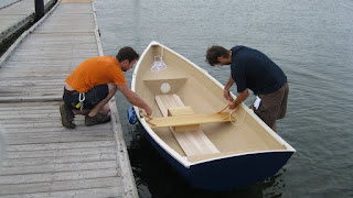 ... Using Small Boats on the Coast of Maine: New Stitch and Glue Dinghy