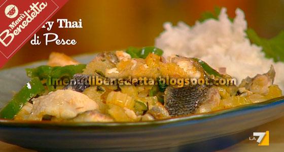 Curry Thai di Pesce di Benedetta Parodi