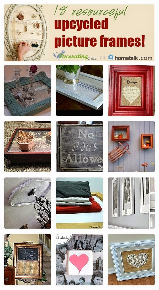 Upcycled Picture Frame Ideas on Hometalk