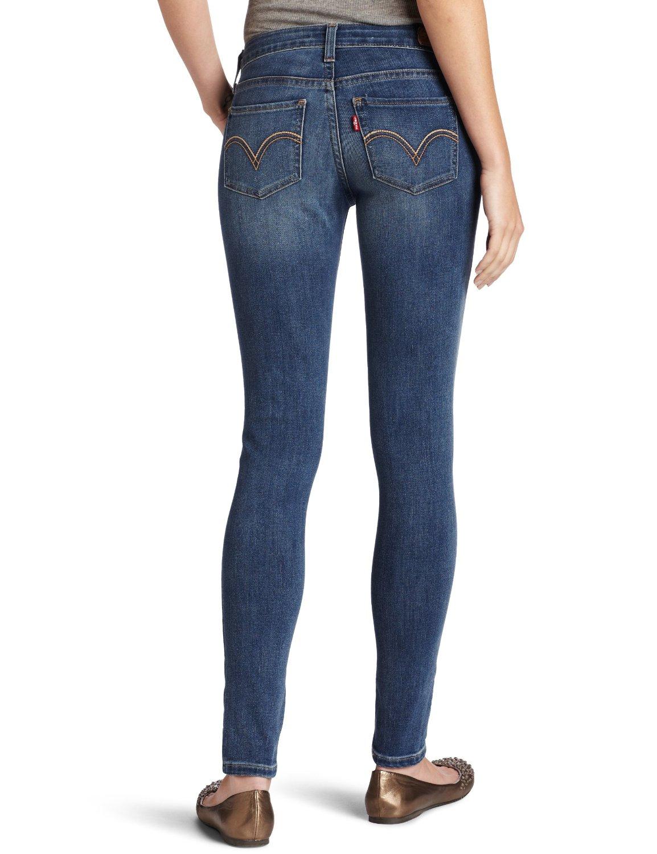 Levi's 535 super skinny womens denim leggings